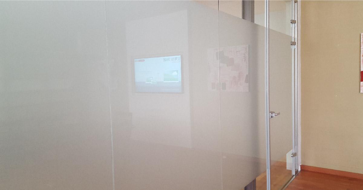 Divisorias e portas vidro escritorio
