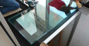 vidro de pavimento estrutural